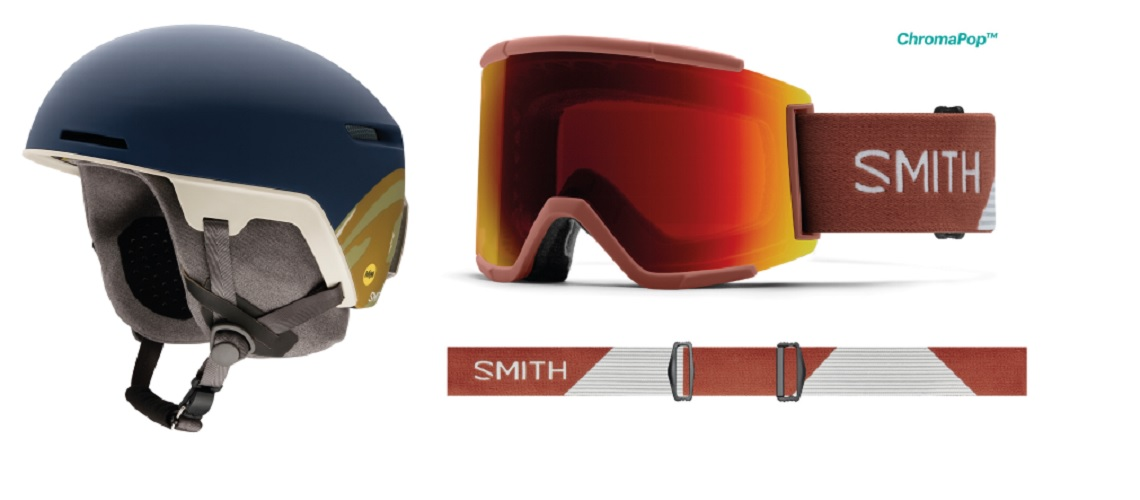 9cdfc5f797d Smith Launches Code Helmet With MIPS   Squad XL Goggles